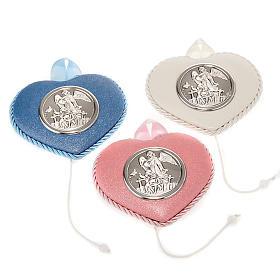 Medallas y decoraciones para cunas: Decoración para cuna ángel de la guardia