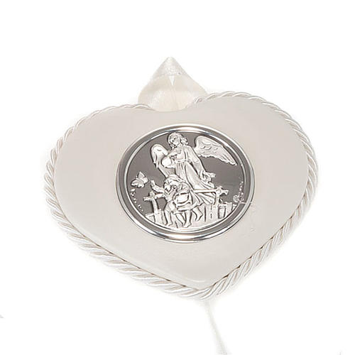 Heart cradle decoration, guardian angel 2