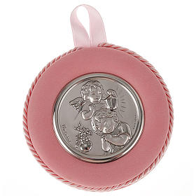 Medal, cradle decoration, angel, baby and lantern s2
