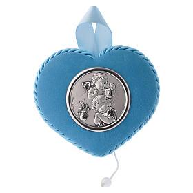 Sopraculla azzurro cuore angelo e bambino s4
