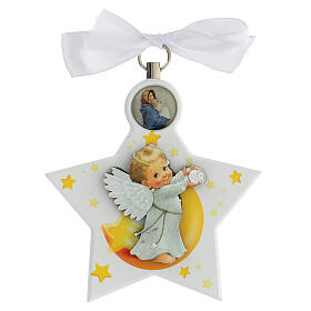 Estrella para cuna ángel blanca s1