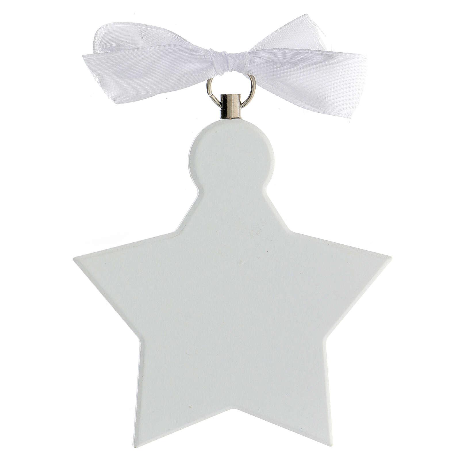 Stella sopraculla angelo bianca 4