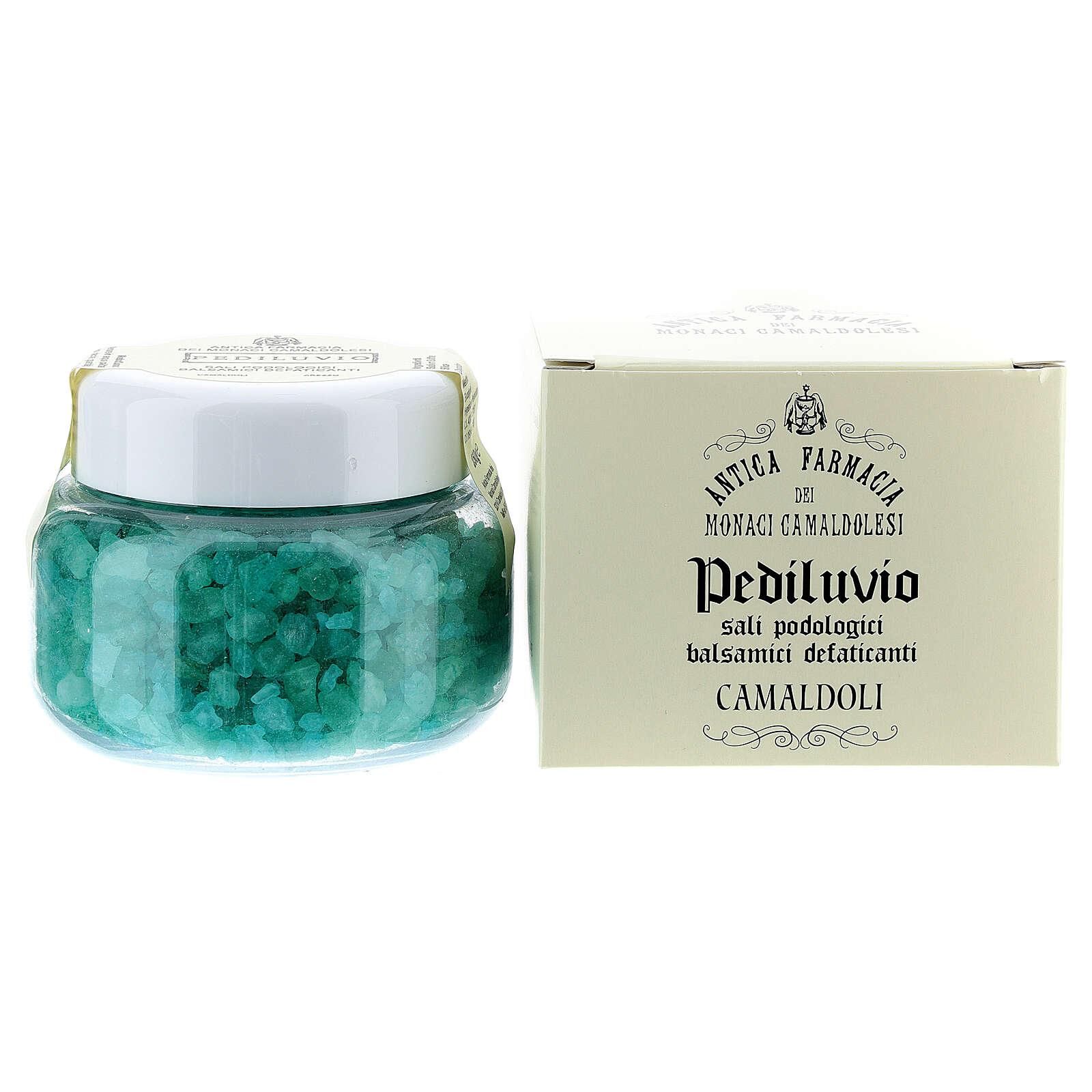 Camaldoli Foot-bath. Podiatric balsamic salts (250 gr) 4