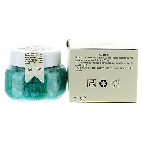 Camaldoli Foot-bath. Podiatric balsamic salts (250 gr) 3