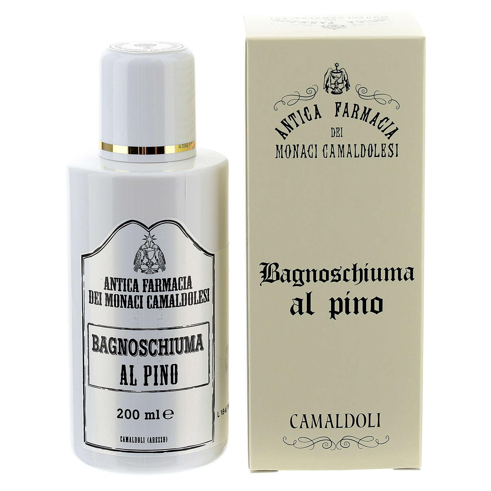 Płyn do kąpieli sosnowy 200 ml Camaldoli 4