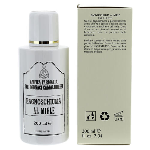 Bagnoschiuma al Miele 200 ml 2