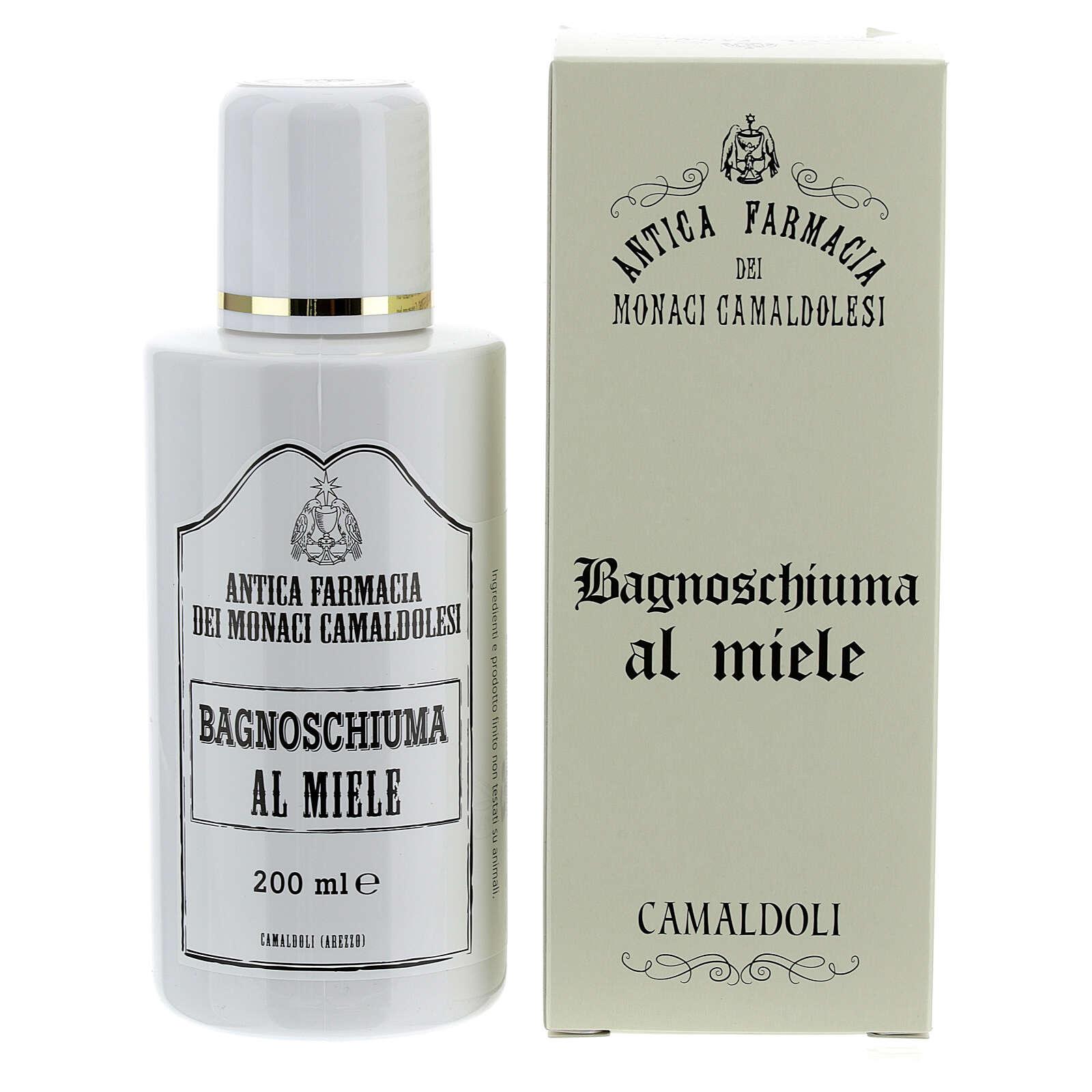 Płyn do kąpieli miodowy 200 ml Camaldoli 4