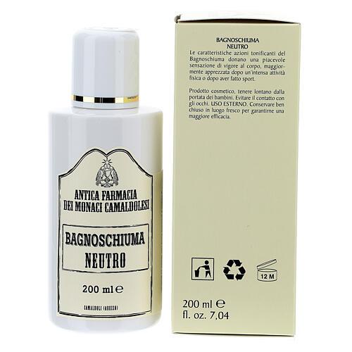 Camaldoli Neutral Bath Foam (200 ml) 3