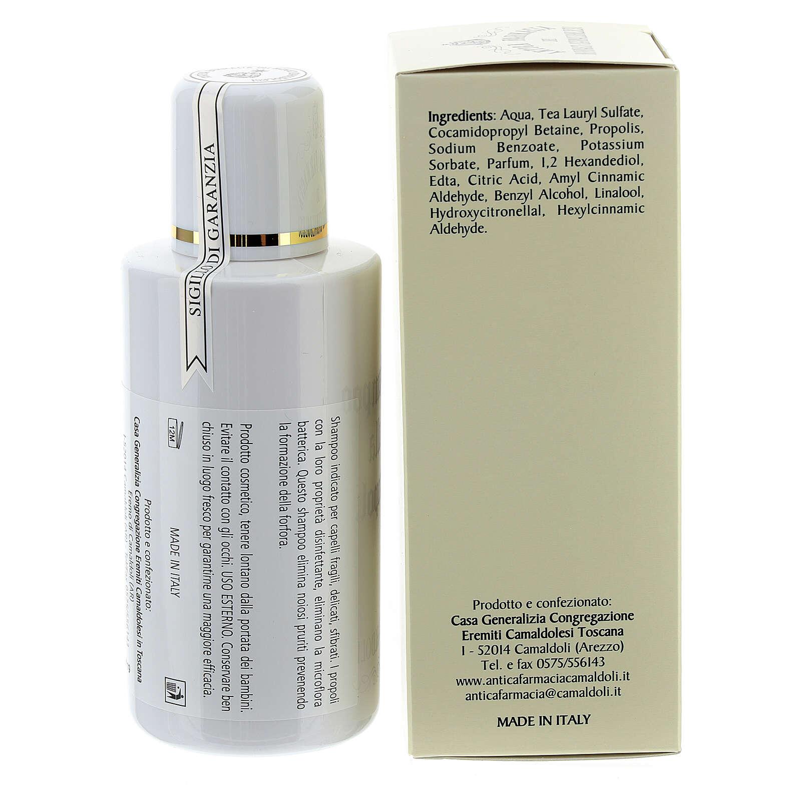 Camaldoli Bee Propolis Shampoo (200 ml) 4