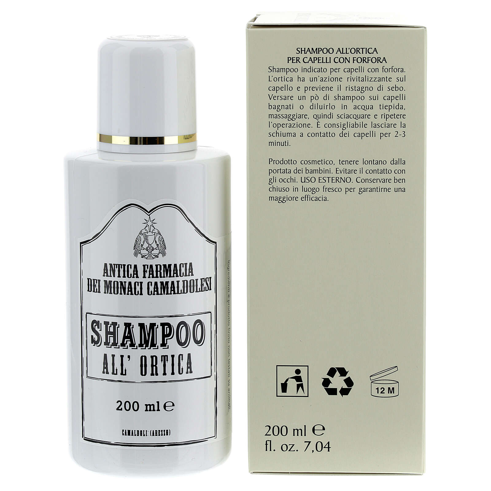 Shampoo all'ortica 200 ml 4