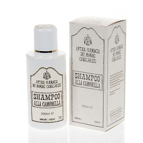 Natural shampoos, shower gels, soaps and toothpastes: Camaldoli Camomile Shampoo (200 ml)