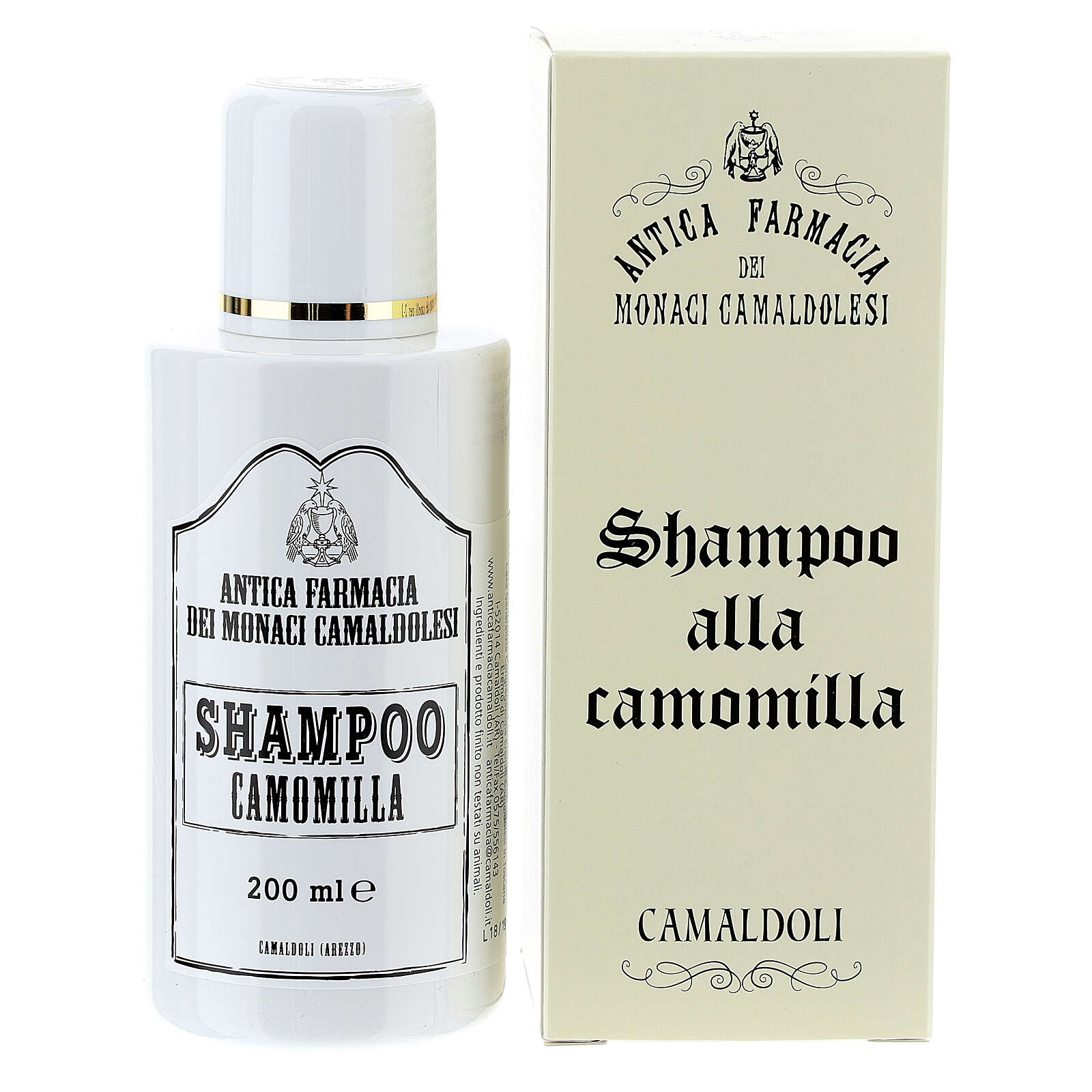 Shampoing, camomille, 200ml 4