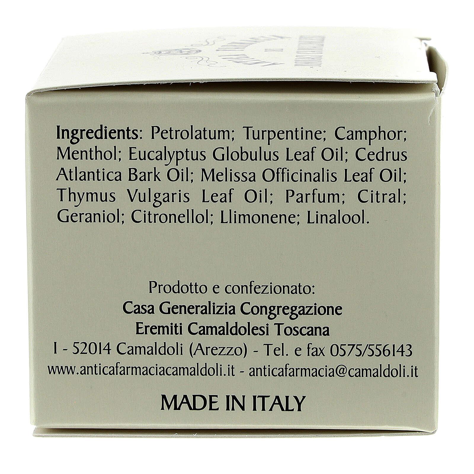 Fragrância balsâmica Camaldoli 30 ml 4