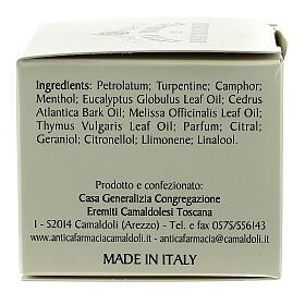 Fragrância balsâmica Camaldoli 30 ml s3