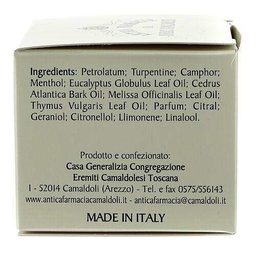 Fragrância balsâmica Camaldoli 30 ml 3