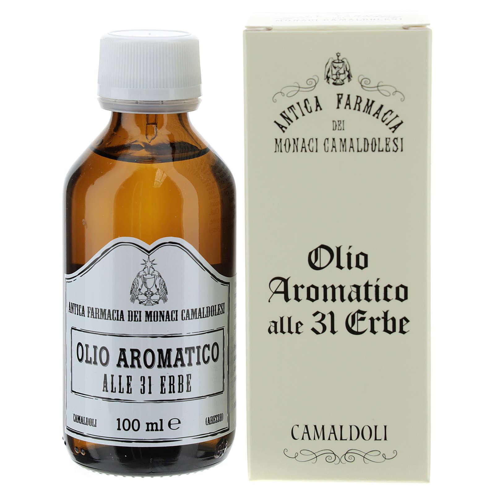Öl 31 (100 ml) - Öl mit 31 Kräuter der Mönche aus Camaldoli 4