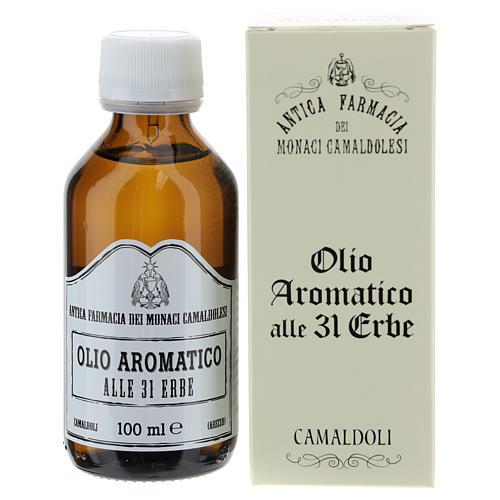 Öl 31 (100 ml) - Öl mit 31 Kräuter der Mönche aus Camaldoli 2