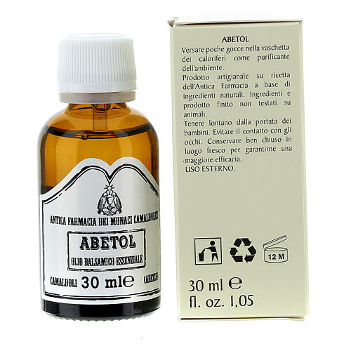Abetol essential oil (30 ml) Camaldoli 3