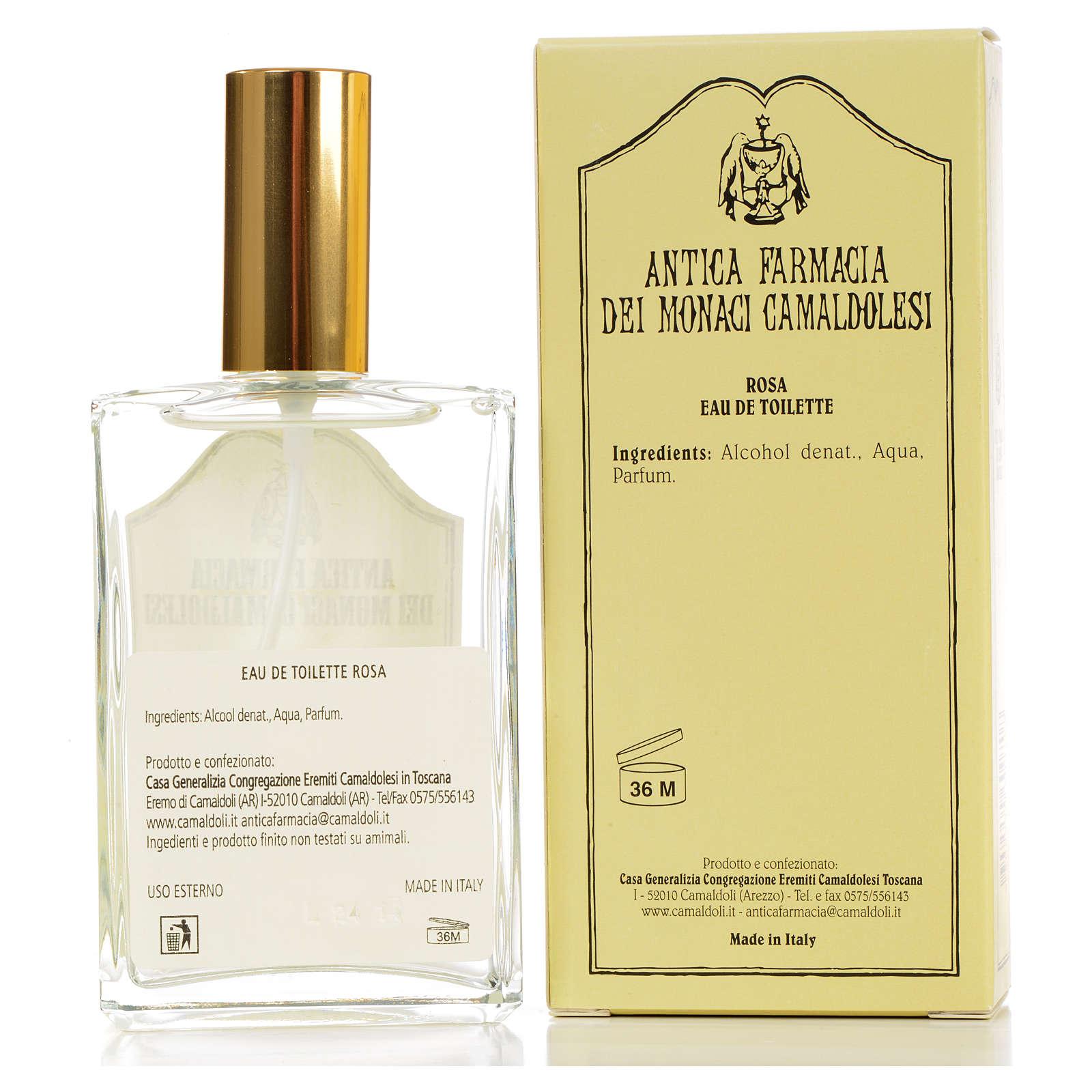 Agua de baño - Eau de Toilette Rosa  (100 ml) 4