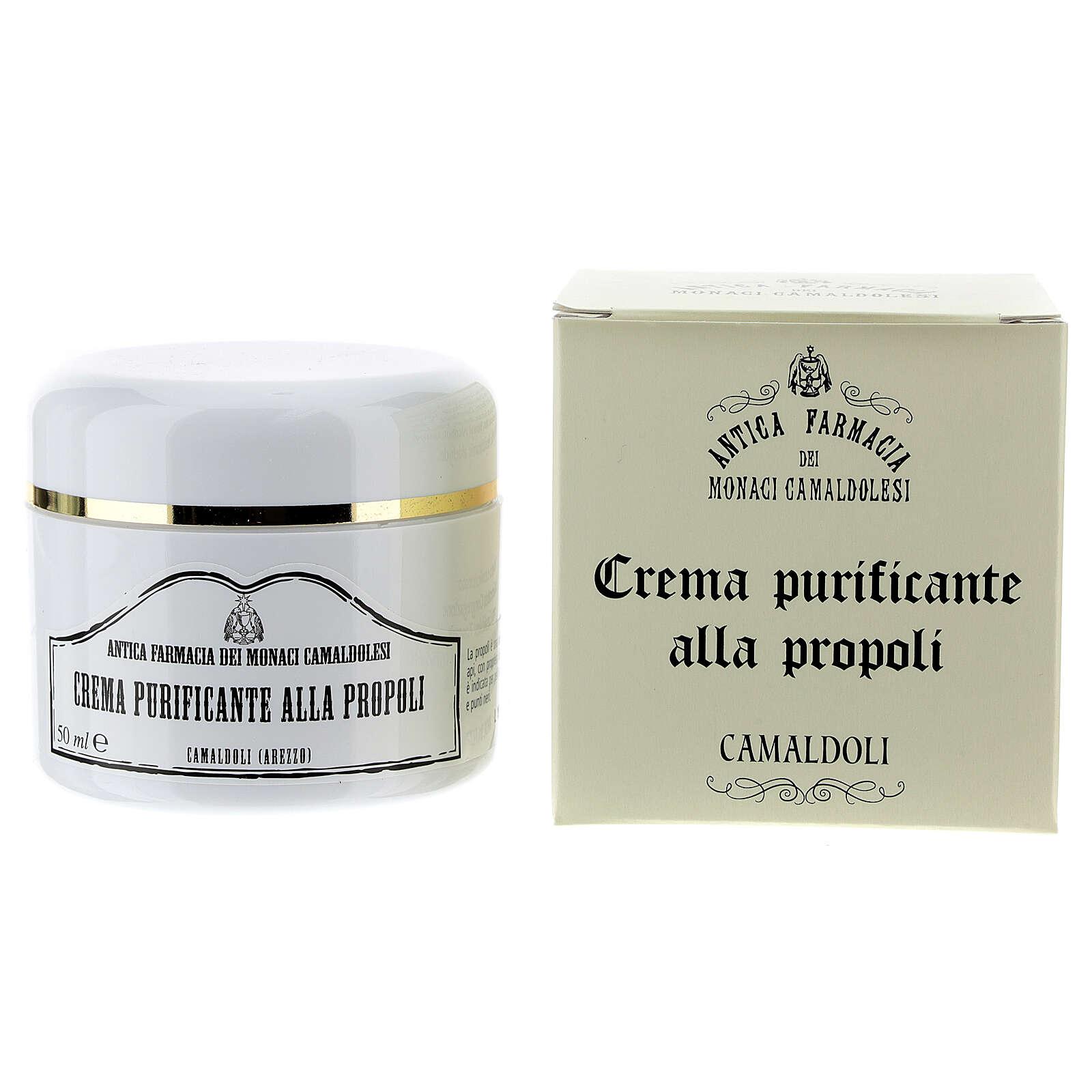 Camaldoli Purifying Bee Propolis Cream (50ml) 4