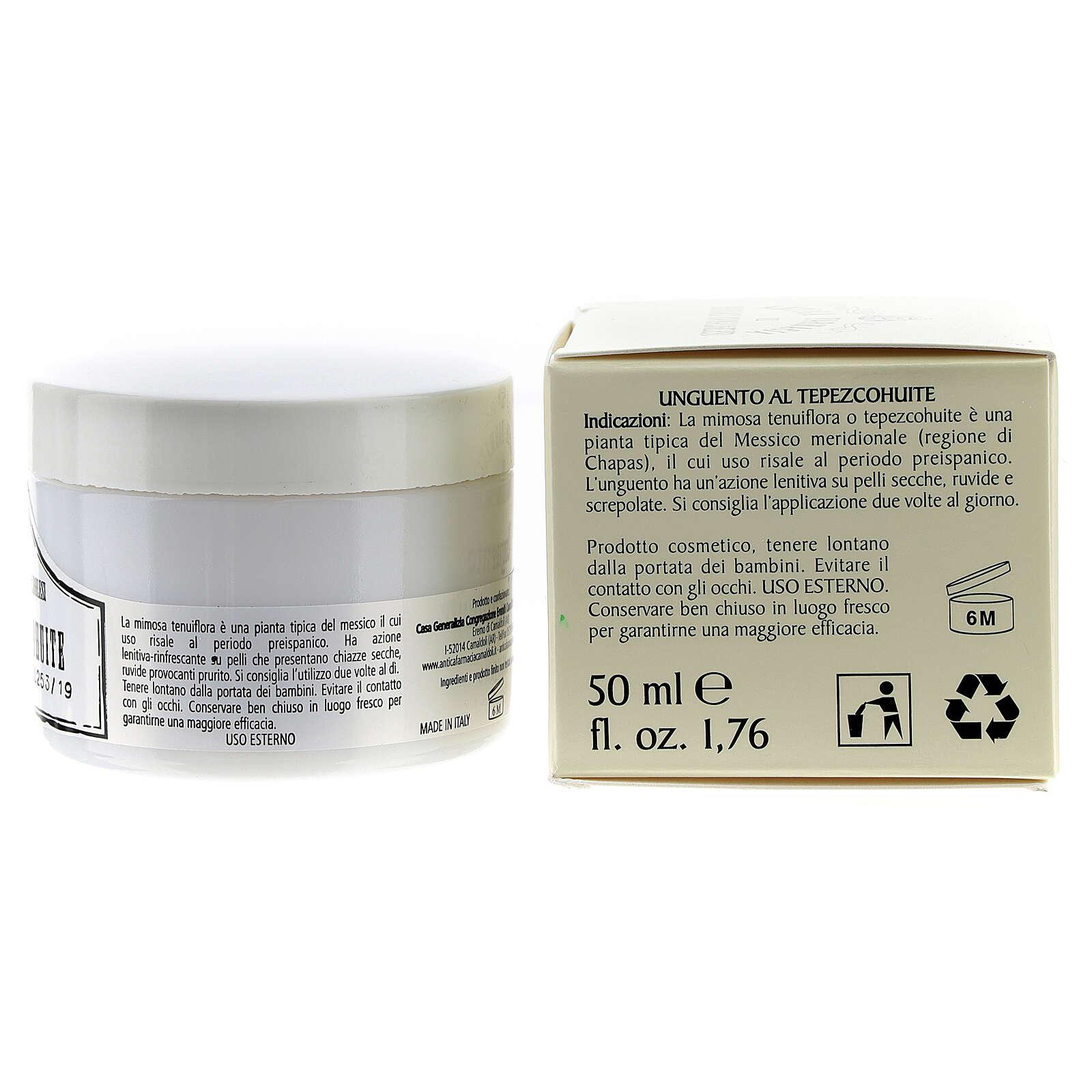 Pommade au Tepezcohuite (50 ml) 4