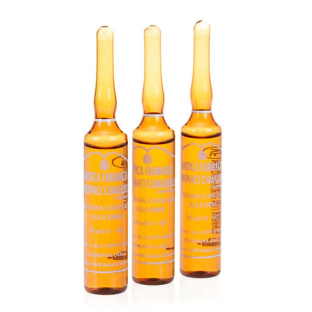 Haarlotion  mit Kräutern (12 Fialen à 10 ml) 4