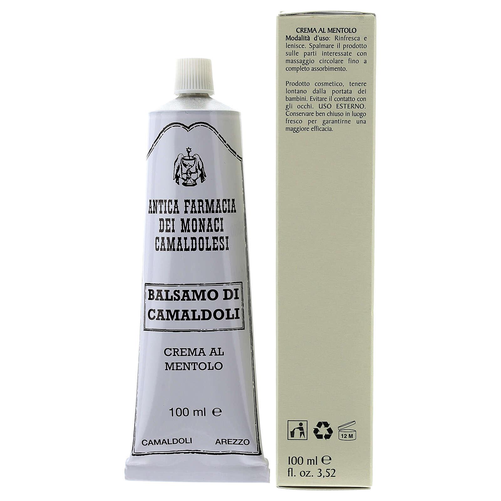 Crème au Menthol, baume de Camaldoli 4