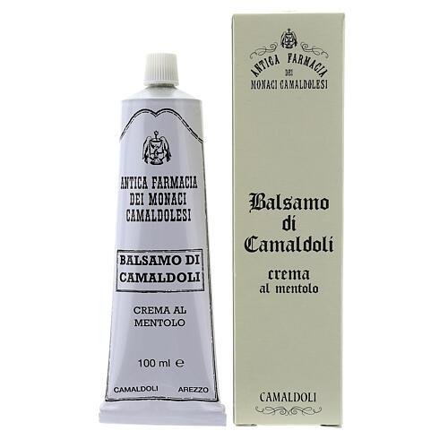 Crème au Menthol, baume de Camaldoli 1