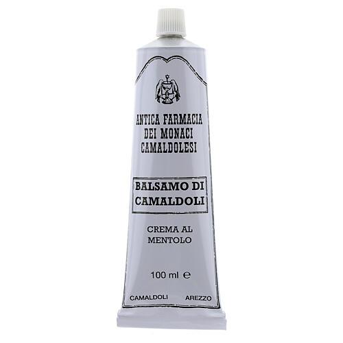 Crème au Menthol, baume de Camaldoli 2