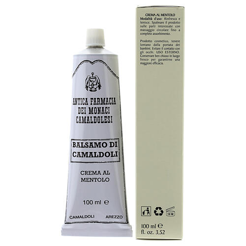 Crema al Mentolo Balsamo di Camaldoli 100 ml 3