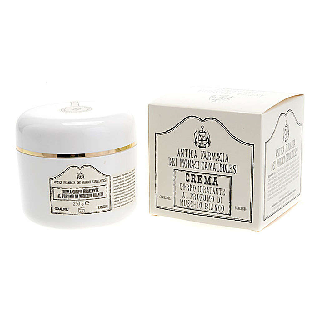 Crema para el Cuerpo Hidratante Almizcle Blanco (250 ml) 4