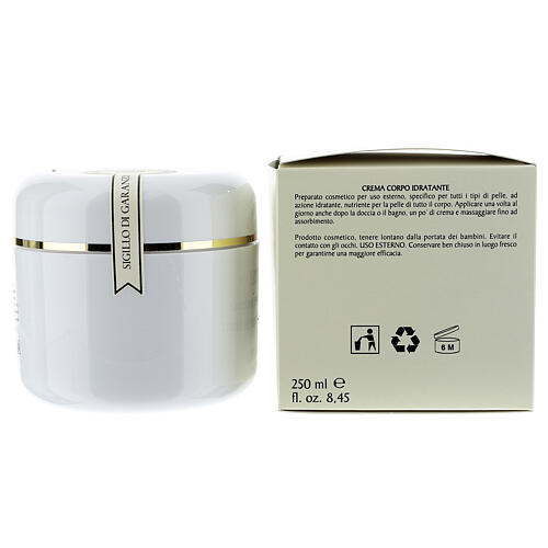 Crema Corpo Idratante al Muschio Bianco 250 ml 2