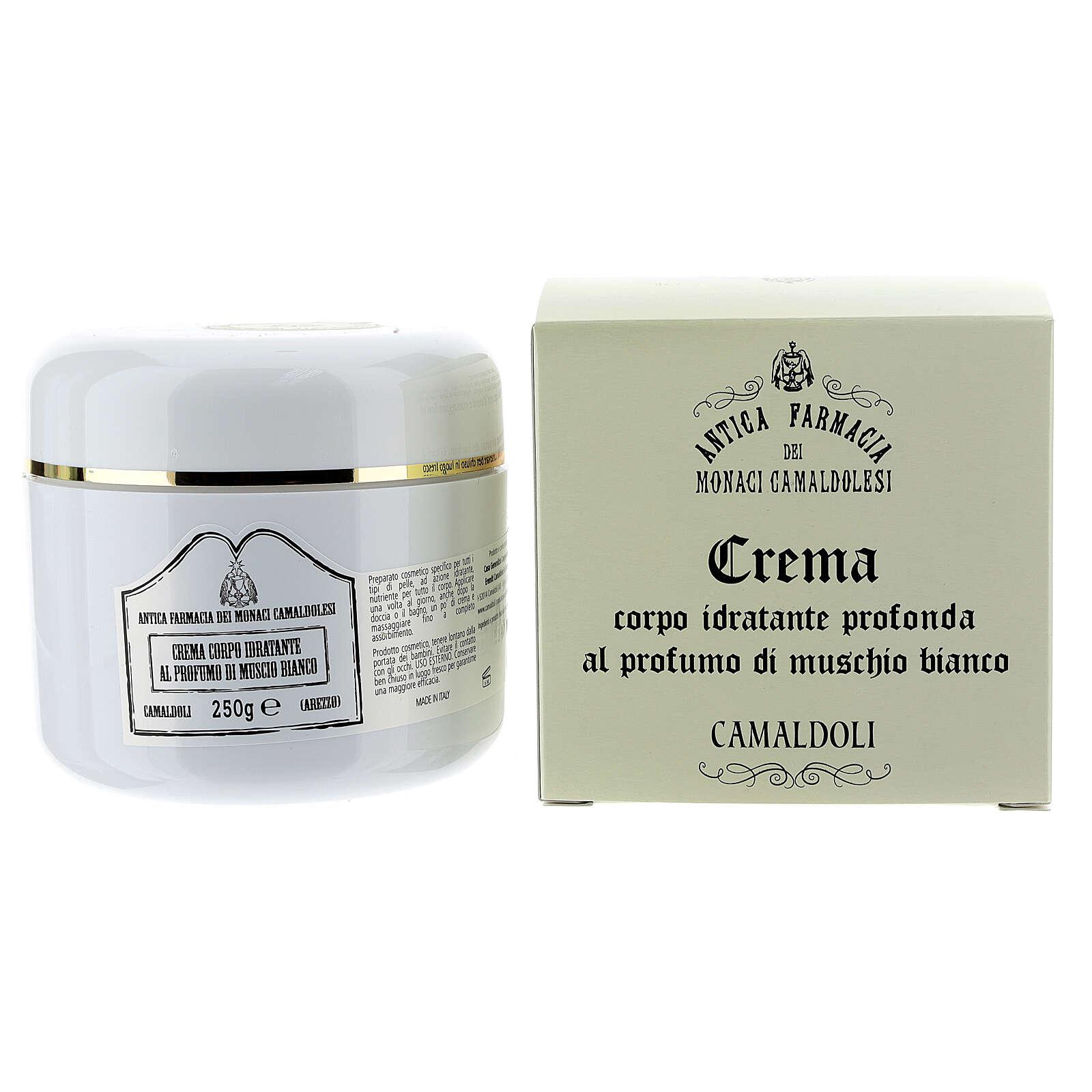 Camaldoli White Musk Moisturizing Body Cream (250 ml) 4