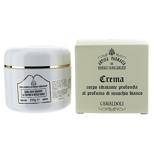 Camaldoli White Musk Moisturizing Body Cream (250 ml) 1