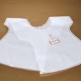 Christening gown with candle s6