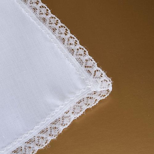 Traje de bautizo con cruz de color plata 7