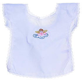 Baptism clothes and candles: Baptismal gown