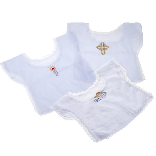 Chemise baptême, offre spéciale 2