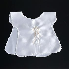 Baptismal gown in satin s5