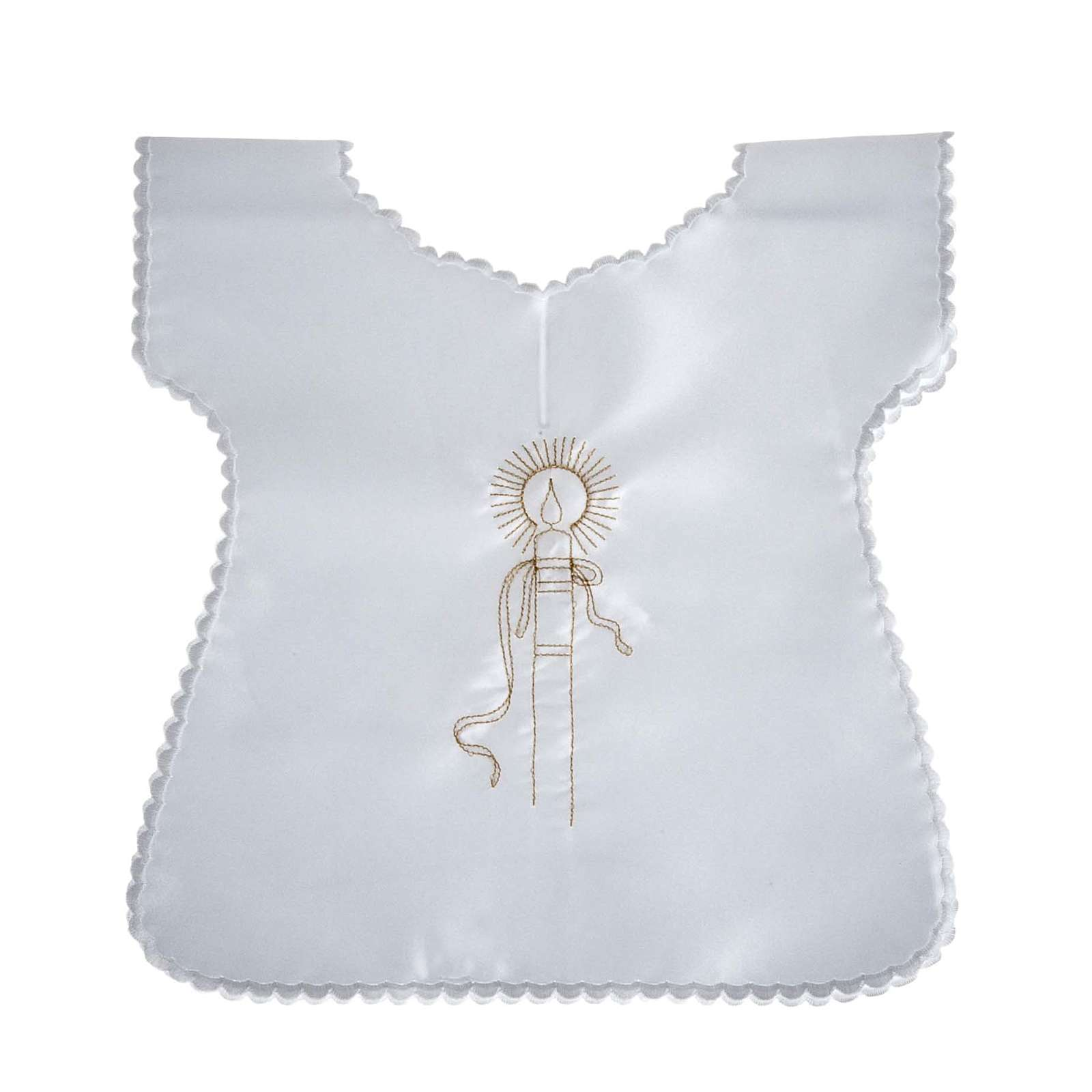 Baptismal gown in satin 4