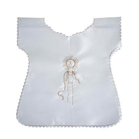 Baptismal gown in satin s2