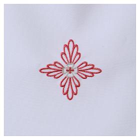Vestina da battesimo croce rosa s2