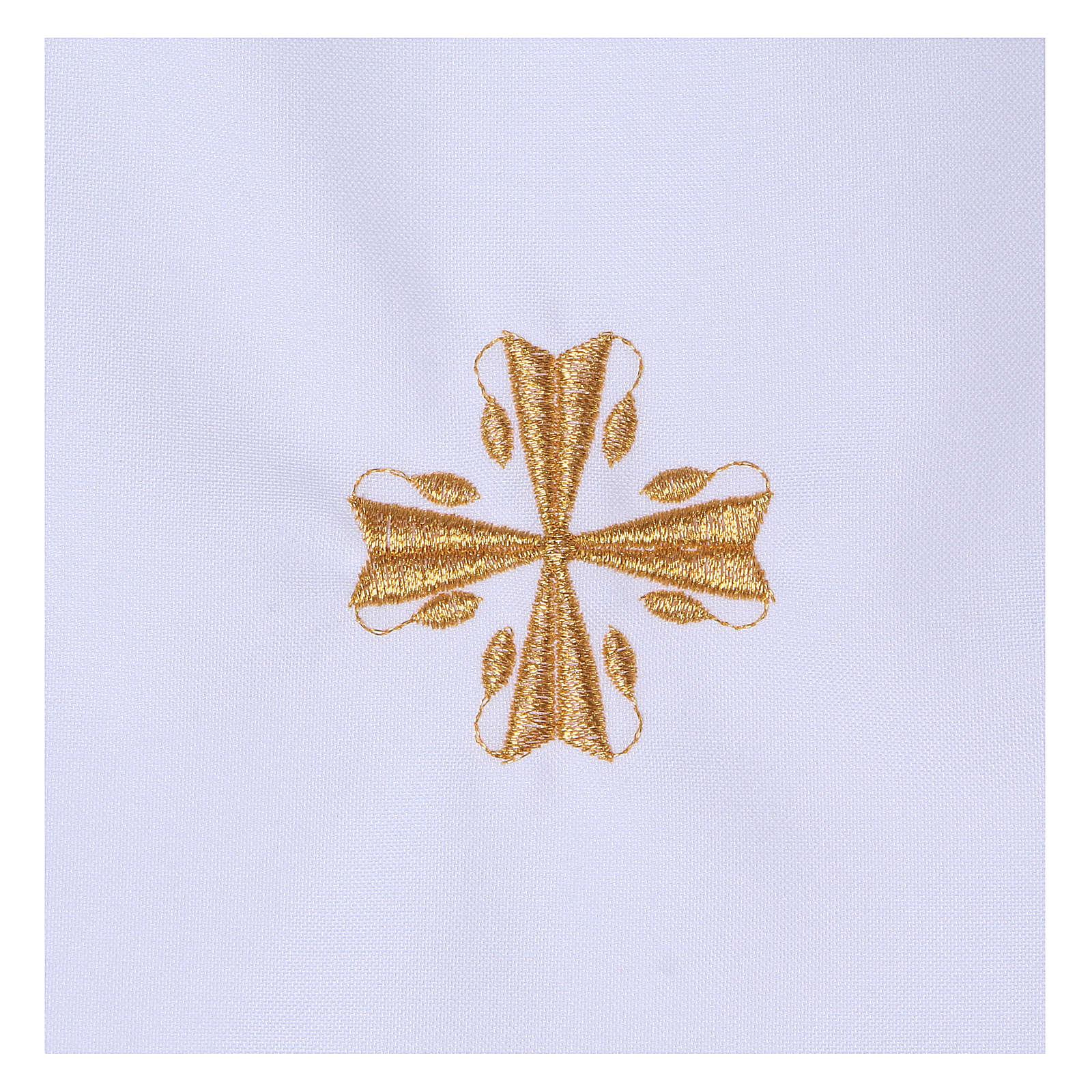 Vestina Battesimo croce 65% poliestere 35% cotone 4