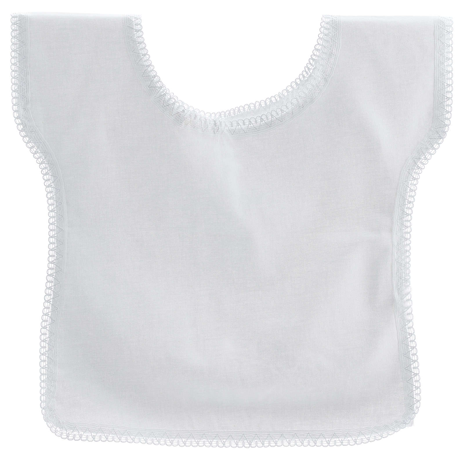 Baptismal shirt with dove 100% cotton 4
