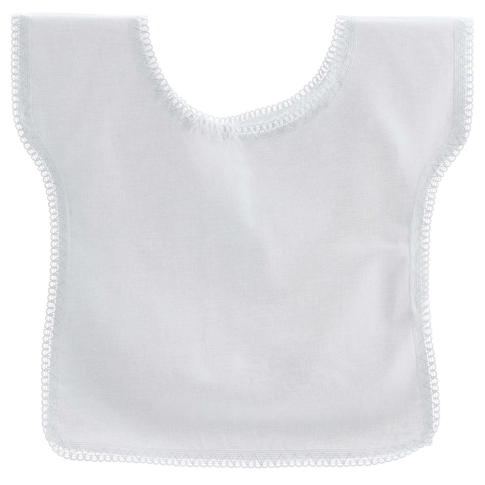 Trajecito bautismo con paloma 100% algodón 4