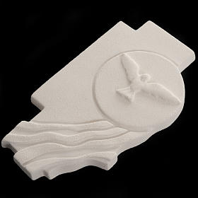 Bas-relief  Holy Spirit Confirmation crucifix s3