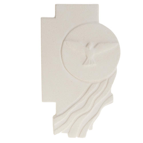 Bas-relief  Holy Spirit Confirmation crucifix 1