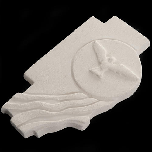 Bas-relief  Holy Spirit Confirmation crucifix 3