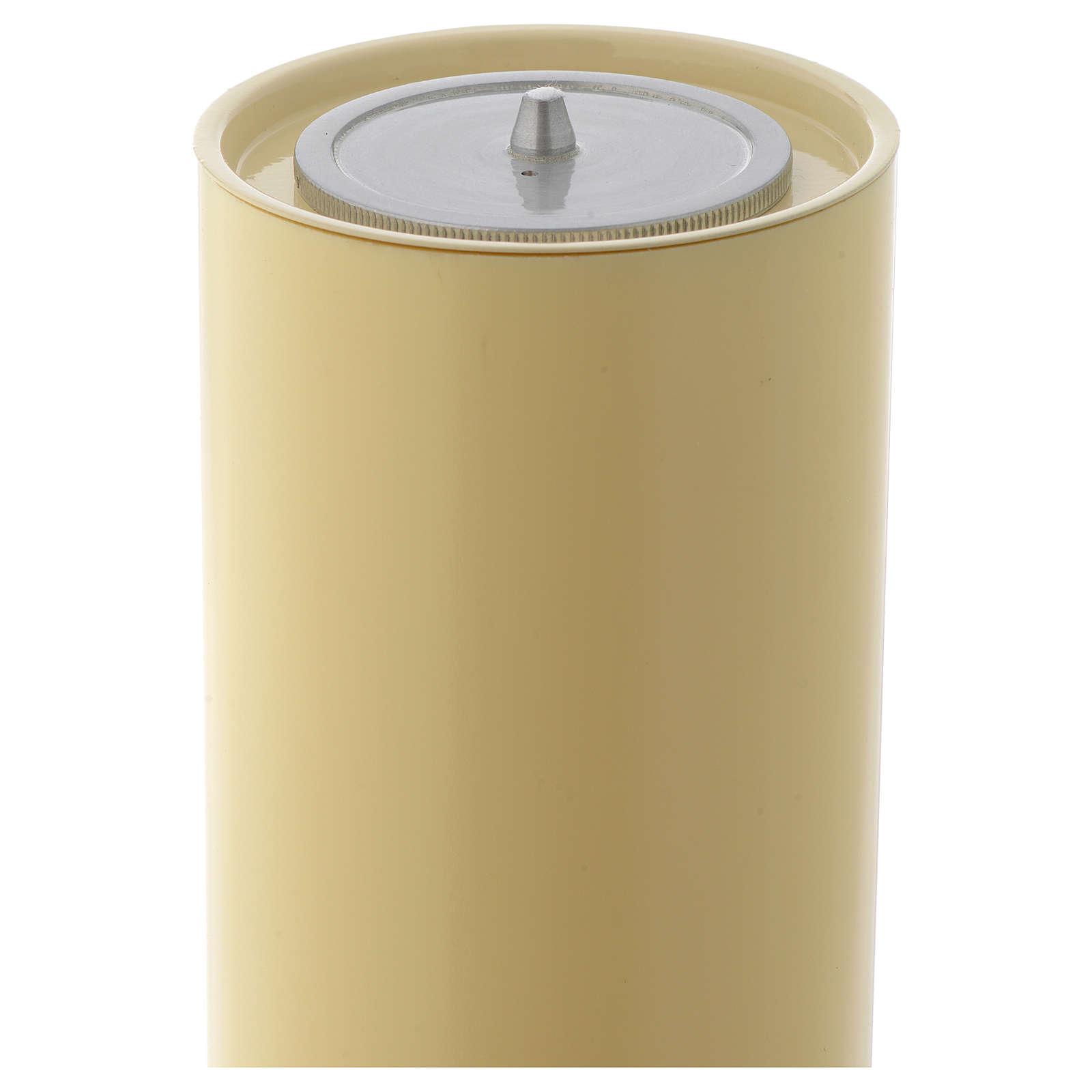 Candelieri ottone base lavorata 4