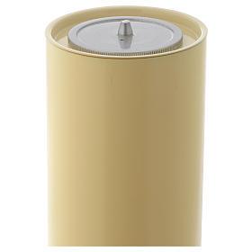 Candelieri ottone base lavorata s5